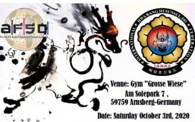 Open European Martial Art Championship 03.09.2020